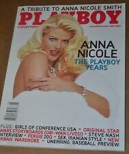 Playboy Magazine May 2007 Anna Nicole Smith Shannon James Steve Nash Fergie