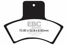 FIT POLARIS (ATV)  330 Trail Boss 03>04 EBC REAR ORGANIC BRAKE PADS