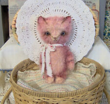 Mohair/Bear Cat Pattern, 5 inch