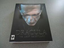 Dracula: The Last Sanctuary    WIN 95/98/ME    NIB   Big Box