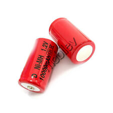 15 x D Rechargeable Ni-MH 1.2V 10000mAh Battery RED M1