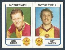 PANINI FOOTBALL 84-#498-A-B-MOTHERWELL-ANDY RITCHIE / ANDY HARROW