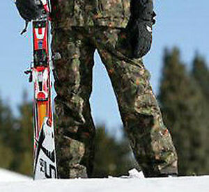 North Face Miyagi Pants Boys Waterproof Insulated Snowboard Ski Youth Camo L