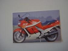 RITAGLIO DI GIORNALE 1989 MOTO KAWASAKI ZX-10 ZX 10 ZX10