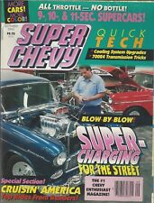 SUPER CHEVY Magazine (Sept 1992) Blow by Blow Super-charging for the Street ~L36