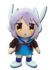 "Great Eastern GE-8994 Melancholy of Haruhi Suzumiya 8"" Yuki Nagato Plush Doll"