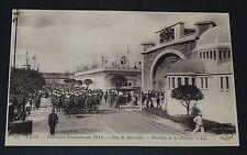 CPA 1914 FRANCE LYON EXPO INTERNATIONALE RUE DE MARSEILLE PAVILLON DE LA SOIERIE