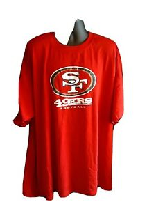 San Francisco 49ers NFL Men's Majestic Big & Tall Shirt XLT up to 7X