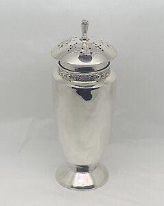 Solid Sterling Silver Celtic Sugar Shaker Sifter Dredger
