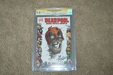 Deadpool Merc With a Mouth #2 Signature Tony Moore Variant CGC 9.8 Comic