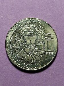 1982 50 PESOS MEXICO COIN