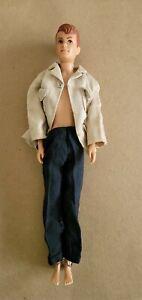 Vintage 1960 Allen Doll By Mattel  Hawthorne Ca. Ken & Barbie Friend READ
