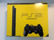 Playstation 2 PS2 Slim Schwarz Konsole OVP + 2x Sony Controller + 9 Spiele