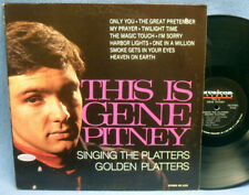LP GENE PITNEY - SINGING THE PLATTERS // USA MUSICOR