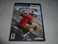FACTORY SEALED BRAND NEW PLAYSTATION 2 PS2 GAME TONY HAWKS DOWNHILL JAM NFS