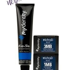 GUY TANG #mydentity HAIR COLORDEMI,PERMANENT,  Midnight Blue / Dark Brown 3MB