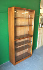 Tall Oak Bookcase, Glazed, Traditional, Office, Study, Lounge, Bedroom