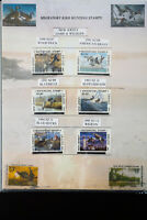 US NJ Waterfowl Stamp Collection