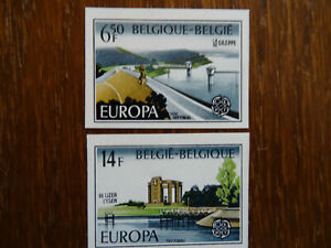 Belgium 1977 Mi# 1905-1906, MNH, Europa Cept, imperforated