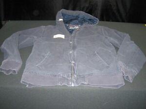 Altamont Bryan Herman Jacket Size Medium blue canvas ~ 8612