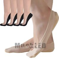 10 Pairs Women Invisible No Show Nonslip Loafer Boat Line Cut Cotton Sock YH