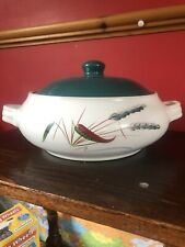 VINTAGE DENBY GREENWHEAT CASSEROLE WITH LID / VEGETABLE TUREEN -