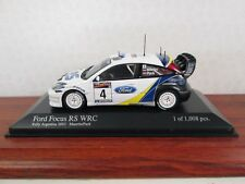 MINICHAMPS. Ford Focus RS WRC. White/Blue. 1:43. Limited Ed. 400 038384