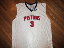 BEN WALLACE DETROIT PISTONS 3 JERSEY Licensed NBA Basketball NOS NWT Mens 2XL