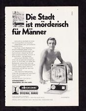 3w2726/ Alte Reklame von 1969 - Höhensonne - ORIGINAL HANAU