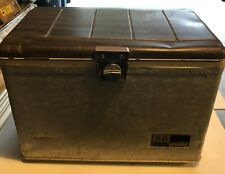 Vintage Sears Ted Williams Ice Chest Cooler Aluminum Wrapped 50 Quart