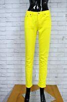 RALPH LAUREN Pantalone Donna Taglia 38 Jeans Pants Woman Hose Casual Elastico