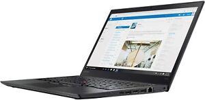 Lenovo Thinkpad T470s 2.6GHz i7-6600U 8GB RAM 256GB SSD Win 10 Pro 20JTS1JB00