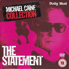 THE STATEMENT starring Michael Caine ( Daily Mail Promo DVD )