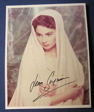 AUTOGRAPHED COLOR 8x10 PHOTO OF JEAN SIMMONS IN SPARTACUS