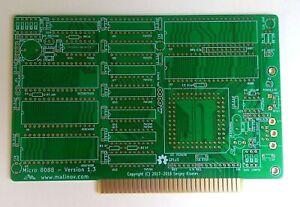 PCB Micro PC XT 8088 (Sergey Kiselev) gold