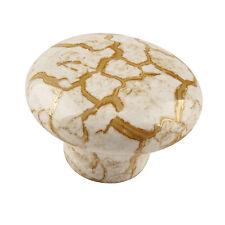 Marble Cracks Ceramic knob Kitchen Door Cabinet Handle Pull Dresser drawer knobs