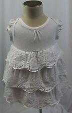 GAP baby girls 3-6 months EYELET RUFFLED dress