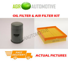 PETROL SERVICE KIT OIL AIR FILTER FOR VAUXHALL ZAFIRA 1.6 105 BHP 2005-