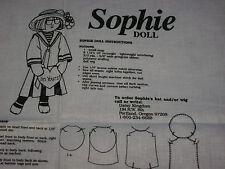 1991 Daisy Kingdom Mary Engelbreit Craft Panel SOPHIE Doll RARE