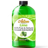Artizen Lime Essential Oil (100% PURE & NATURAL - UNDILUTED) - 4oz / 118ml