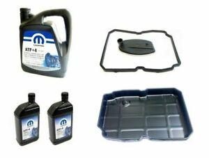FOR JEEP GRAND CHEROKEE WK 3.0CRD TRANSMISSION SERVICE KIT FILTER+7L ATF+4 + PAN