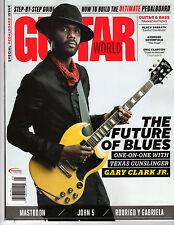 GUITAR WORLD - May 2017 - Gary Clark Jr. Cover, Mastodon, John 5, Rodrigo, Eric