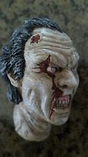 custom painted walking dead zombie head version 2 for 12 inch body