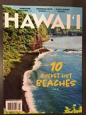HAWAII magazine February 2020 issue 2/20 Bucket-list beaches, quilting, sharks