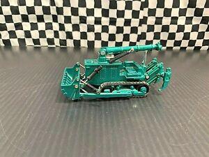 Shinsei Komatsu D155W Underwater/Amphibious Crawler Dozer - Green - 1:60 Boxed