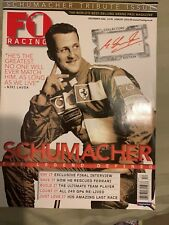 F1 Racing Magazine - December 2006 Michael Schumacher Cover  Formula One