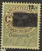 Stamp Germany Austria Revenue WWII Fascism Occupation Medical C8 Invalid Used