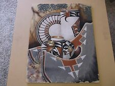 Original Native American Sand Art on Board