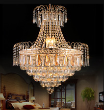 New ListingLuxury Crystal Chandeliers Home Ceiling Lighting Fixtures Pendant Lamp 50cm/60cm