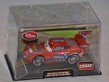 NEW! Disney Store PIXAR Cars 2 Stars & Stripes Lightning McQueen Diecast CHASE
